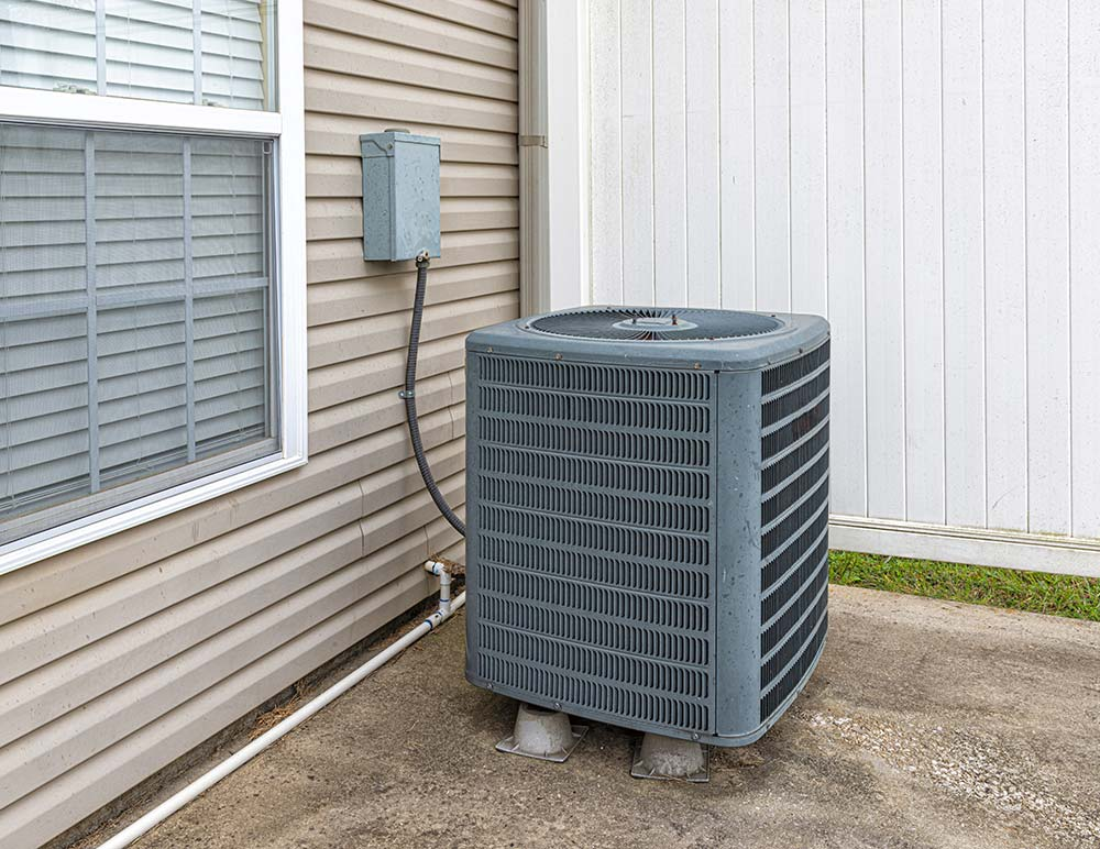 Air Conditioner outside of home